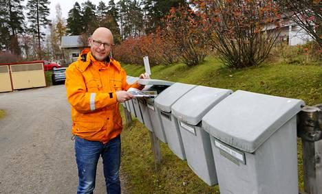 Mika Rajanen on postilainen.