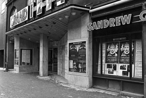 Elokuvateatteri Grand, jossa pääministeri Olof Palme ja tämän vaimo Lisbet kävivät katsomassa elokuvan Bröderna Mozart ennen kohtalokasta ampumista.