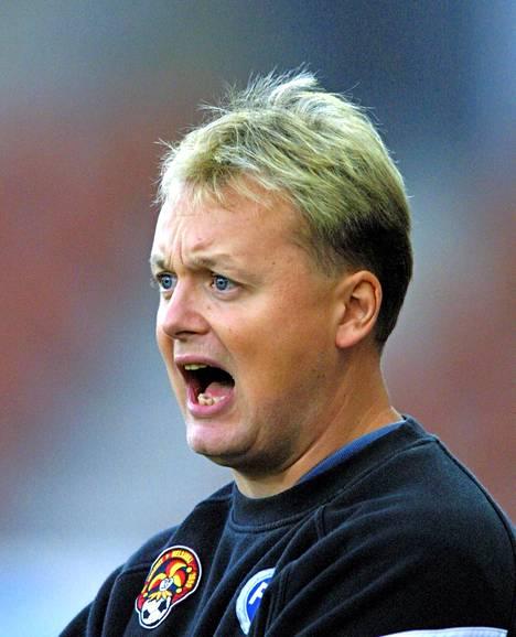 Jokereiden uusi valmentaja Ville Lyytikäinen vuonna 2001.