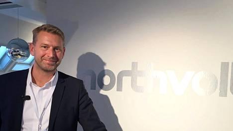 Northvoltin toimitusjohtaja Peter Carlsson.