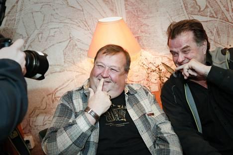 Mikko Kivinen ja Tapio Liinoja.