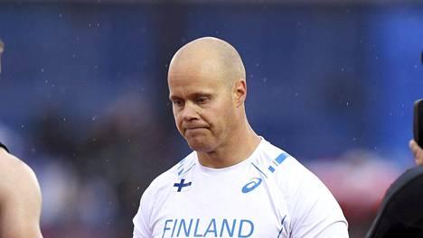 David Söderberg eteni vesisateesta huolimatta EM-finaaliin.