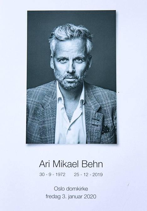 Behn kuoli 47-vuotiaana 25. joulukuutta.