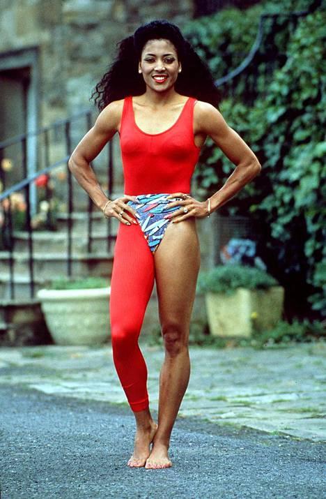Florence Griffith Joyner vuonna 1988.