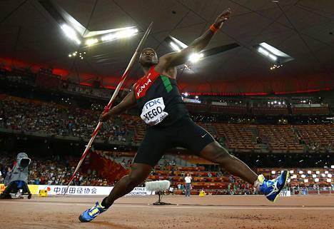 Viime elokuussa Julius Yego heitti maailmanmestariksi tuloksella 92,72, joka on pisin heitto sitten syksyn 2001.