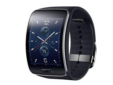 Samsungin Gear S -älykello toimii myös puhelimena.