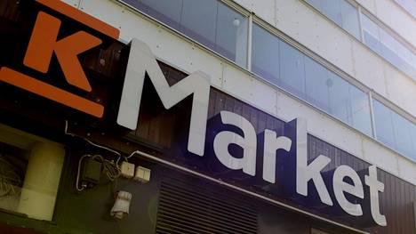 Kuvituskuva K-Marketin kyltistä.