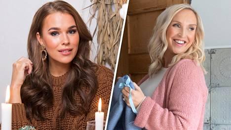Jutta Larm ja Sara Sieppi avasivat hiljattain yhteisen verkkokaupan.