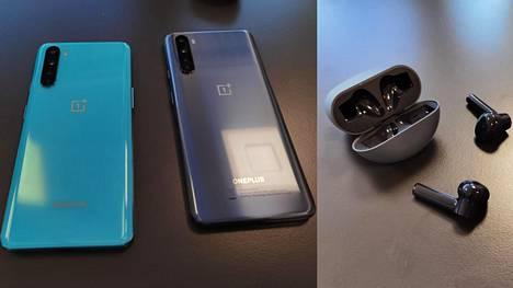 OnePlus tuo Nord-puhelimen lisäksi kauppoihin täyslangattomat OnePlus Buds -nappikuulokkeet.