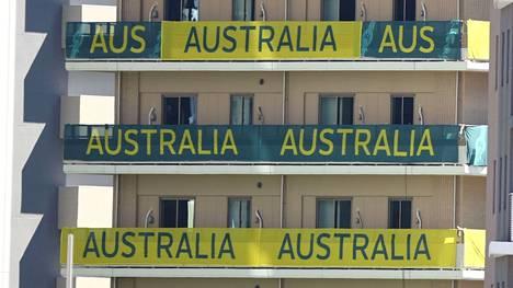 Australian joukkueen asuintiloissa Tokion olympiakylässä vietettiin viinanhuuruisia bileitä.