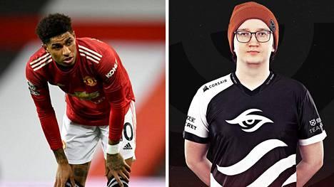 Forbesin uuden listan urheilu- ja pelit -osion näkyvimmän paikan sai Manchester Unitedin tähtihyökkääjä Marcus Rashford. Heti vierestä löytyy suomalainen Lasse Urpalainen.