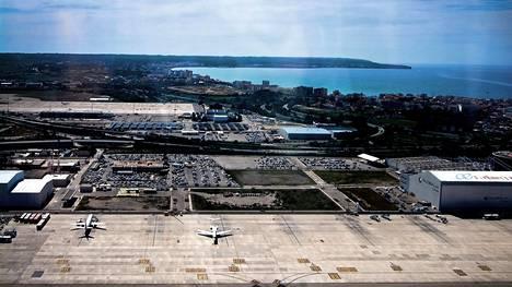 Palma de Mallorca on Espanjan kolmanneksi vilkkain lentoasema.