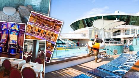 Amerikkalaisturisteja täynnä ollut risteilijä vieraili Helsingissä – tältä näyttää Serenade of the Seas