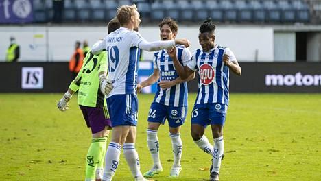 HJK siirtyi maalieron turvin sarjan ykköspaikalle.