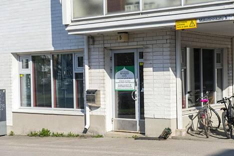 Oulun keskustan moskeija sijaitsee kerrostalossa.