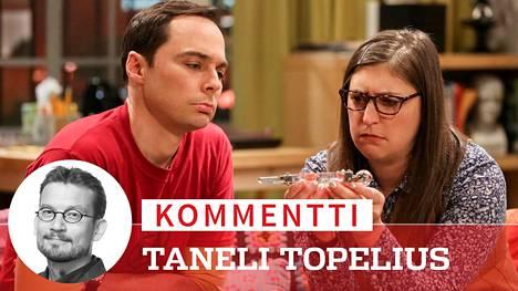 Sheldon (Jim Parsons) on tehnyt aikataulun jopa aviovelvollisuuksille, mitä tuore vaimo Amy (Mayim Bialik) hämmästelee Rillit huurussa -sarjan viimeisen kauden avausjaksossa.