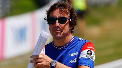 Konkarikuski Fernando Alonso sijoittui Britannian GP:ssä seitsemänneksi.