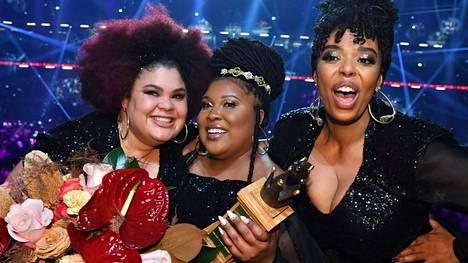 The Mamas voitti Melodifestivalenin ja lähtee edustamaan Ruotsia euroviisuihin.