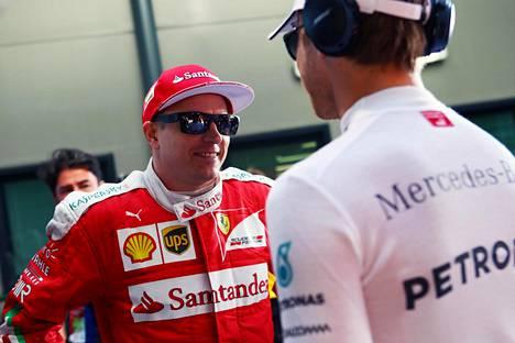 Kimi Räikkönen oli toinen Bahrainin GP:ssä.