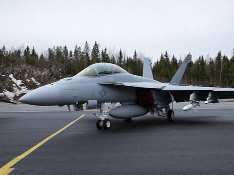 Super Hornet osallistui pakollisiin HX-testeihin helmikuussa 2020. Kaivopuiston näytöksessä sitä ei nähdä.