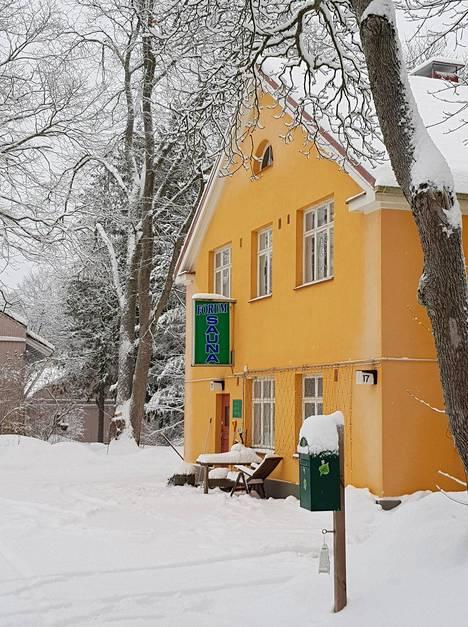 Forum Saunaa kutsutaan Turun ainoaksi yleiseksi saunaksi.