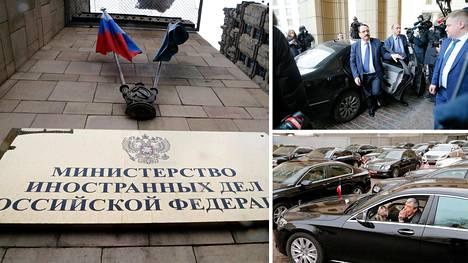 Venäjän ulkoministeriö lähetti tiistaina pikakutsut Moskovassa oleville ulkomaalaisille suulähetystöille ja pyysi heidän edustajiaan tiedotustilaisuuteen keskiviikkona.