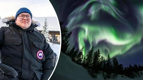 Northern Lights Villagen toimitusjohtaja Markku Inkilä.