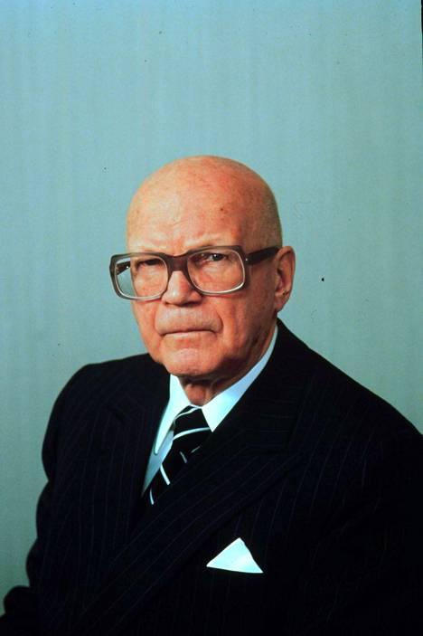 Tällaisena moni muistaa presidentti Urho Kekkosen.