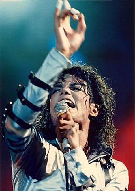 Michael Jackson suosionsa huipulla 9. joulukuuta 1988 Tokiossa.