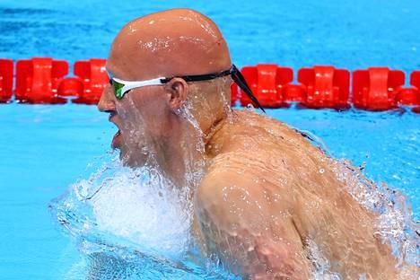 Matti Mattsson hakee menestystä 200 metrin rintauinnista. Alkuerä on vuorossa tiistaina.