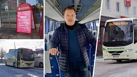 Linja-autoliike S. Kososen toimitusjohtaja Jyrki Kososen mukaan bussilla on turvallista matkustaa, mikäli annettuja ohjeita noudatetaan. Tärkeimmät niistä ovat, ettei bussiin tulla oireisena ja että matkalla käytetään kasvomaskeja.