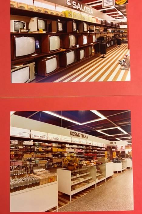 Televisiot saivat aiemmin suuren hyllytilan. Kosmetiikka ei ole katoamassa Citymarkettien hyllystä, mutta esillepano on muuttunut huomattavasti.