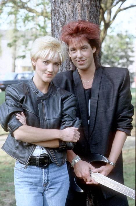 Roxette vuonna 1987.