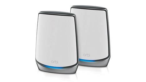 Netgearin uusi useamman tukiaseman Orbi-paketti edustaa uutta wifi 6 -tekniikkaa.