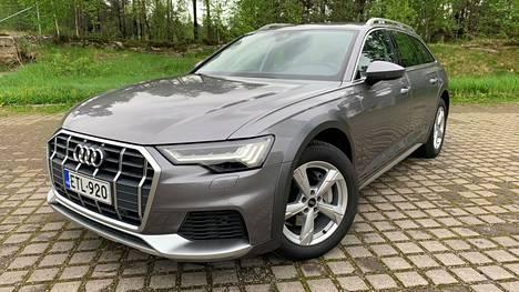 Audi A6 Allroad on katumaasturin ja henkilöfarmarin välimuoto. Nyt malli on muiden dieselkuutosten tapaan myös kevythybridoitu.