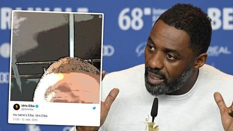 Idris Elban Twitter-viesti on herättänyt maailmalla huomiota.