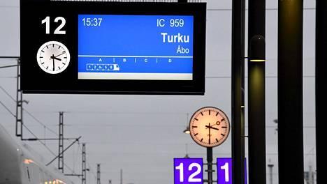 Tunnin junan jäljellä olevaksi suunnittelukustannukseksi on arvioitu 75 miljoonaa euroa. Kuvituskuva.
