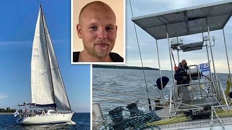 Jarmo Lohikari on kokenut purjehtija. Kuvat ovat hänen aiemmilta retkiltään.