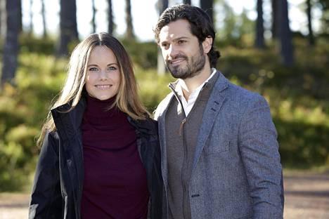 Sofia ja Carl Philip vierailivat hiljattain Ruotsissa luonnonsuojelualueella.