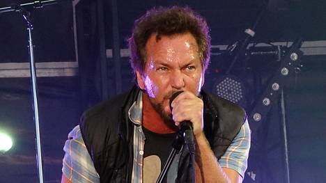 Pearl Jamin vokalisti Eddie Vedder.