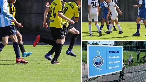 Jalkapallojuniorit ottavat mittaa toisistaan perinteisessä Helsinki Cupissa.
