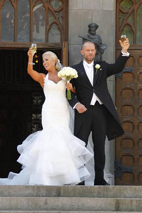 Nanna ja Jere avioituivat elokuussa 2015. Pariskunta vietti hiljattain toista hääpäiväänsä.