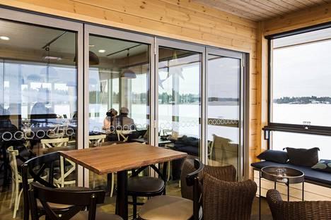 Nokkalan majakan rantakahvila Espoossa.