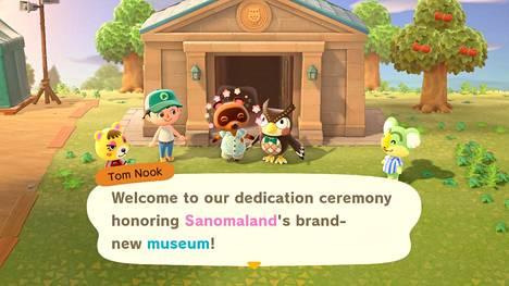 Animal Crossingissa uusi museo on avattu ja sitä on aika juhlia.