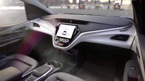 Tällainen on GM:n luomus ilman ohjauspyörää.