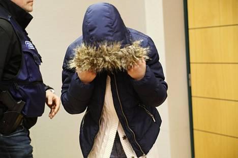 Avunannosta epäilty 21-vuotias nainen vangittiin 4. helmikuuta.