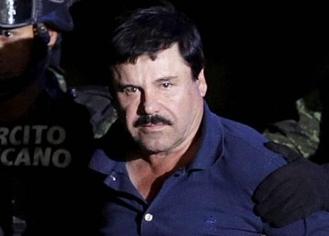 Joaquin El Chapo Guzman on Meksikon pelätyin huumepomo.
