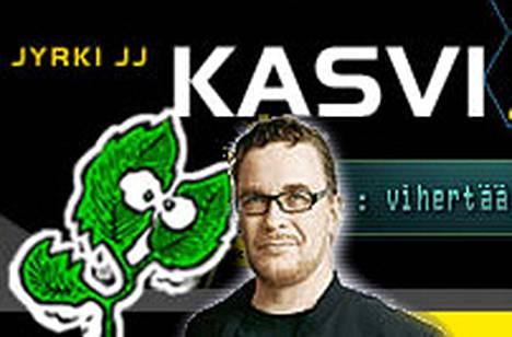 Muun muassa Jyrki Kasvi  hyödyntää IRC-Galleriaa kampanjoinnissaan.