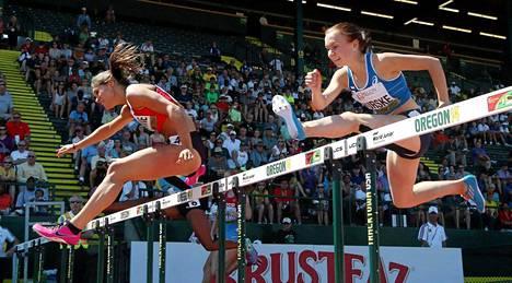 Reetta Hurske (oik.) aitoi finaaliin nuorten MM-kisoissa.