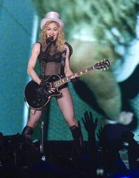 Madonna keikallaan vuonna 2009.